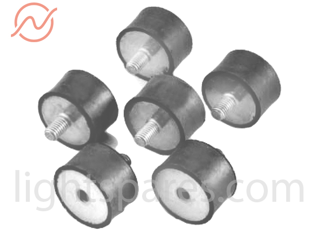 ARRI 2,5 CB - Gummipuffer Maschinenfuß Set (6Stk)