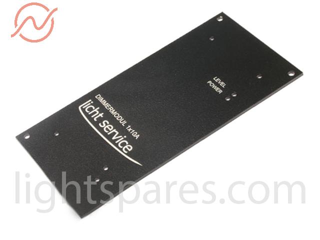 LichtService - A-DIM 1 Montageplatte beschriftet