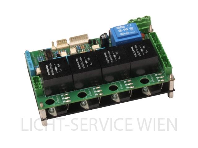 LichtService A-DIM 4 - PCB bestückt