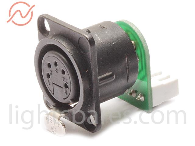 LichtService - XLR > LSA Adapter 5pol female