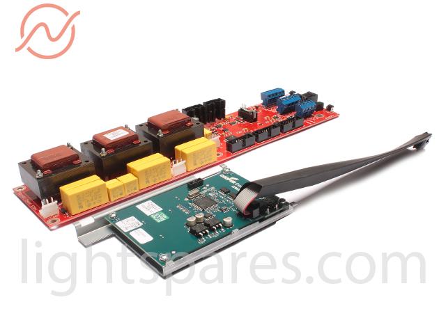 Zero88 Chilli-Pro 6-25i - Hauptplatine mit Display