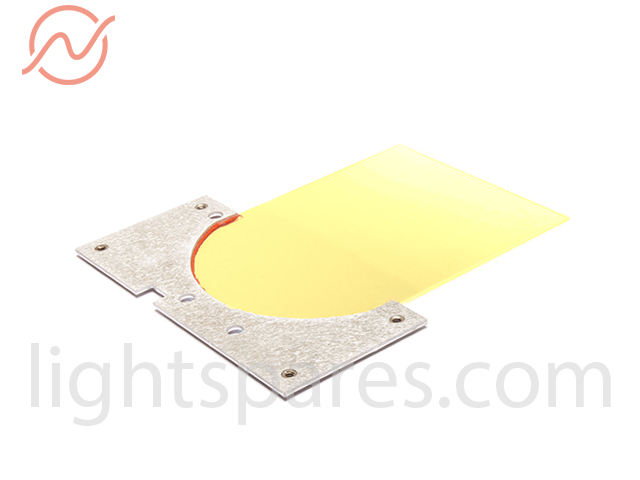 Selecon Pacificfader - ASSY, Mount, Glass, Yellow2