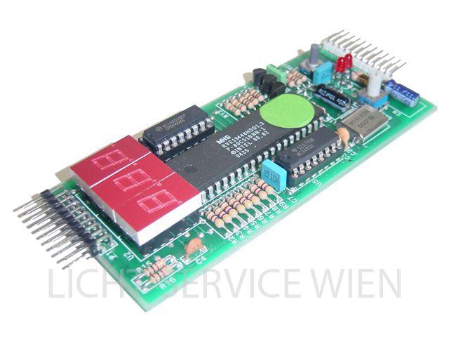 RVE HDD 1278 Dimmermodul - Displayplatine kompl.