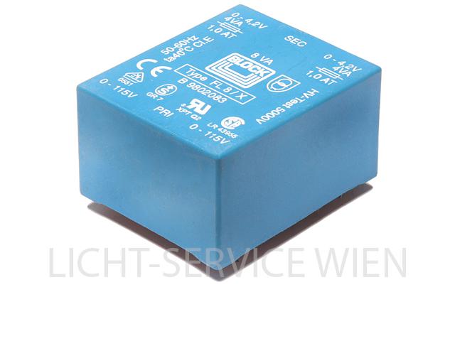 LTK 4ty Dimmer - Transformator (2x115V/2x4,2V)