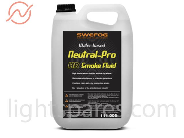 Swefog - Neutral Pro HD Smoke Fluid 5L