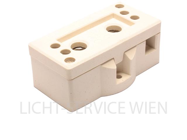 Lampensockel - Keramik Sockel G38