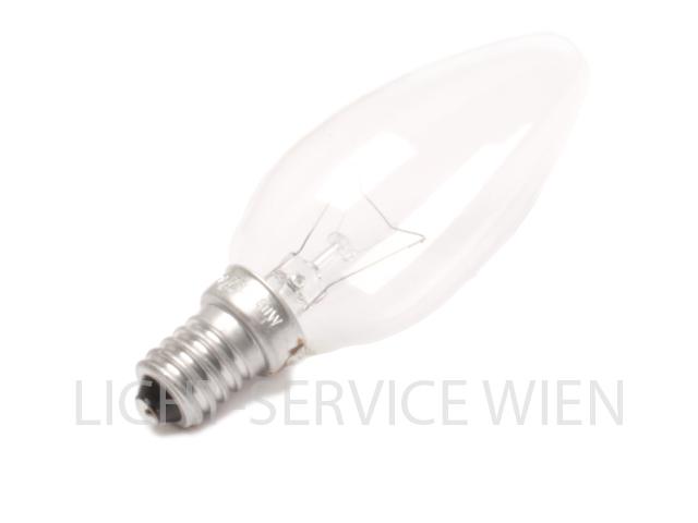 Glühlampe Kerzenform 40W weiß klar [E14]