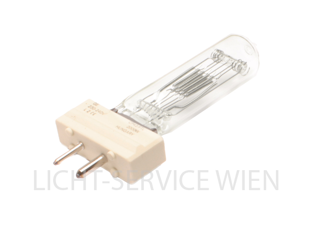 Halogen Lampe CP43 2000W 240V [GY16] GE