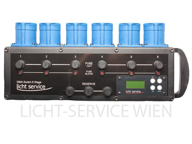 LichtService - DMX Switcher 6 Stage